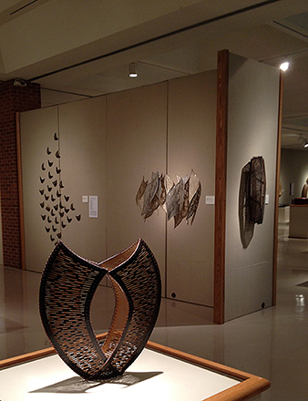 Waltz, Volume, Velettri, and Near at the Forming exhibit