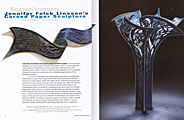 Surface Design Journal, Katagami Inversions by Ginger Knowlton, December Wind & Crest