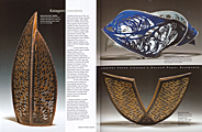 Surface Design Journal, Katagami Inversions by Ginger Knowlton; Together, Beauty Within, & Receptive
