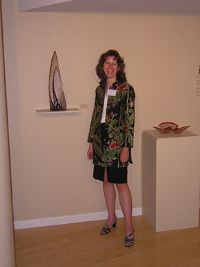 Jennifer Falck Linssen :: Craft and Folk Art Museum reception