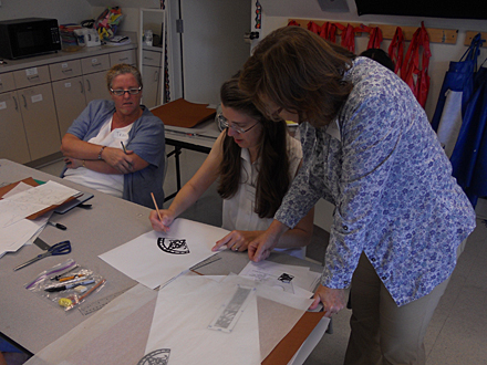 Jennifer Falck Linssen :: Burroughs-Chapin Art Museum workshop