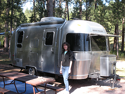 Jennifer Falck Linssen :: Black Hills, Airstream