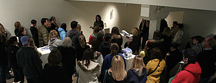 Jennifer Falck Linssen :: Hope College reception
